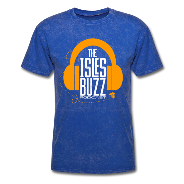 Isles Buzz Podcast T-Shirt - mineral royal