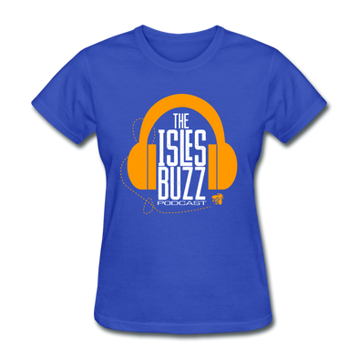 The Isles Buzz Podcast Women's T-Shirt - royal blue