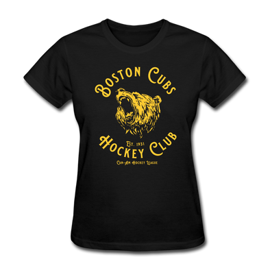Boston Cubs Women's T-Shirt - black