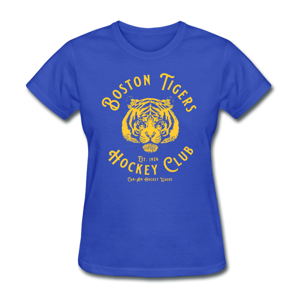 Boston Tigers Women's T-Shirt - royal blue