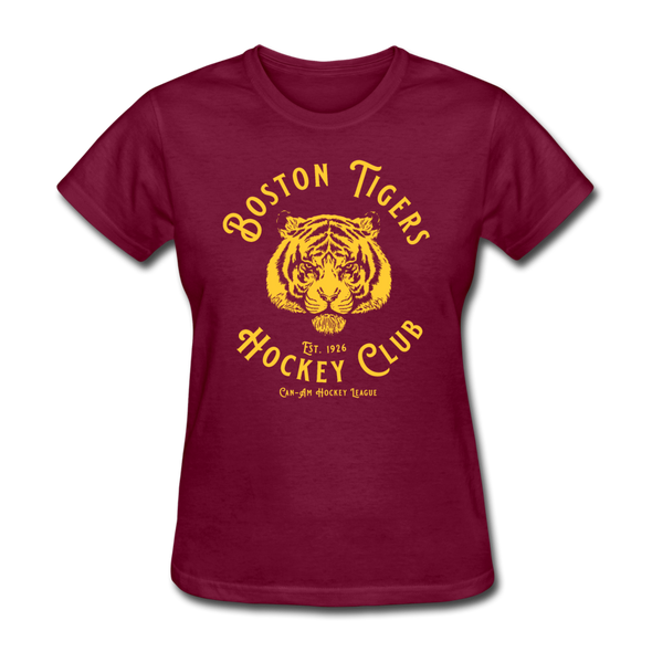 Boston Tigers Women's T-Shirt - burgundy