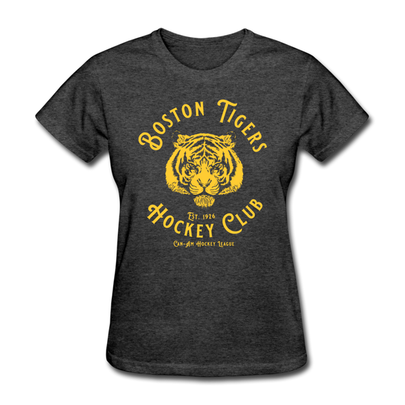 Boston Tigers Women's T-Shirt - heather black