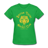 Boston Tigers Women's T-Shirt - bright green
