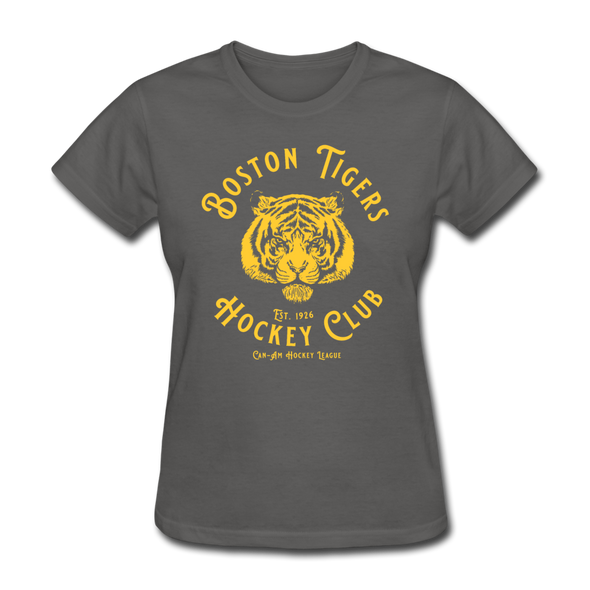Boston Tigers Women's T-Shirt - charcoal