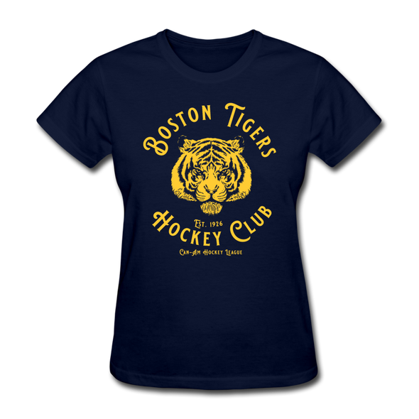 Boston Tigers Women's T-Shirt - navy