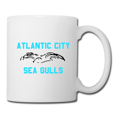 Atlantic City Sea Gulls White Mug - white