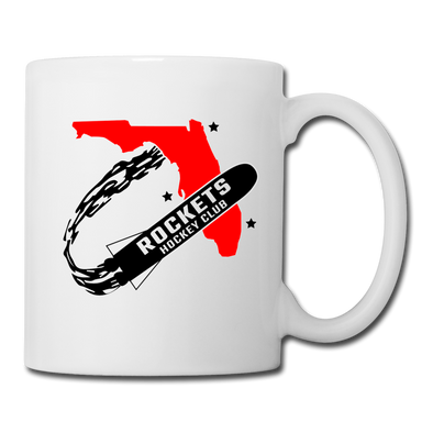 Florida Rockets White Mug - white