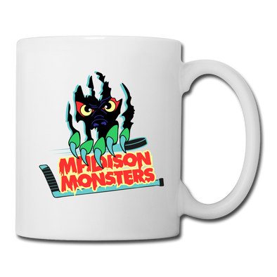 Madison Monsters Logo Mug - white