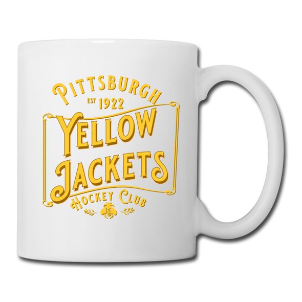 Pittsburgh Yellow Jackets Mug (White) - white