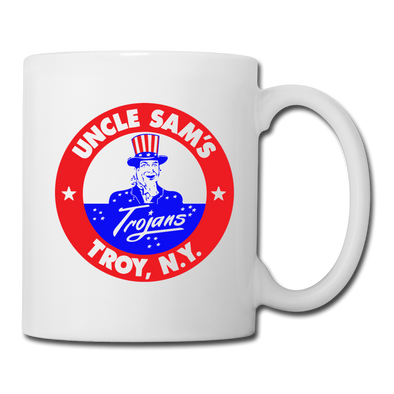 Troy Uncle Sam's Trojans Mug (White) - white