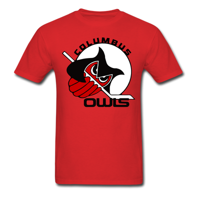 Columbus Owls T-Shirt - red