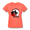 Columbus Owls Women's T-Shirt - heather coral