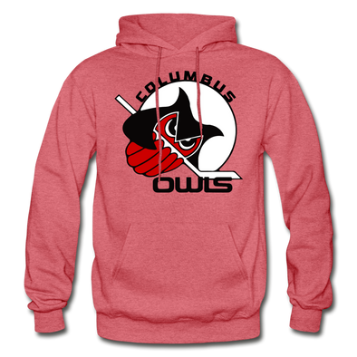 Columbus Owls Hoodie - heather red