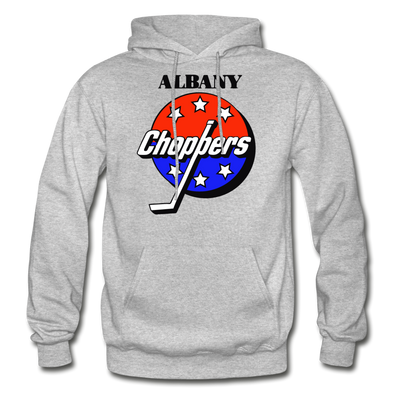 Albany Choppers Logo Hoodie (IHL) - heather gray