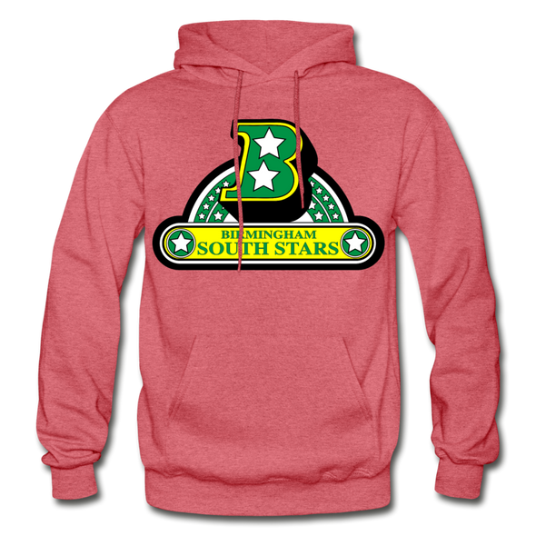 Birmingham South Stars Logo Hoodie (CHL) - heather red
