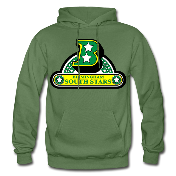 Birmingham South Stars Logo Hoodie (CHL) - military green