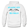 Atlantic City Sea Gulls Logo Hoodie (EHL) - white