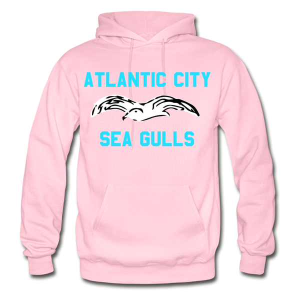 Atlantic City Sea Gulls Logo Hoodie (EHL) - light pink