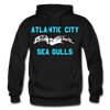 Atlantic City Sea Gulls Logo Hoodie (EHL) - black