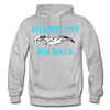 Atlantic City Sea Gulls Logo Hoodie (EHL) - heather gray