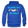 Atlantic City Sea Gulls Logo Hoodie (EHL) - royal blue