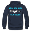 Atlantic City Sea Gulls Logo Hoodie (EHL) - navy