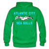 Atlantic City Sea Gulls Logo Hoodie (EHL) - kelly green