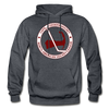 Cape Codders Logo Hoodie (NAHL) - charcoal gray