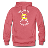 Cincinnati Swords Logo Hoodie - heather red