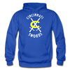 Cincinnati Swords Logo Hoodie - royal blue