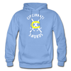 Cincinnati Swords Logo Hoodie - carolina blue