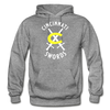 Cincinnati Swords Logo Hoodie - graphite heather
