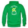 Cincinnati Swords Logo Hoodie - kelly green