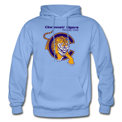 Cincinnati Tigers Logo Hoodie (CHL) - carolina blue