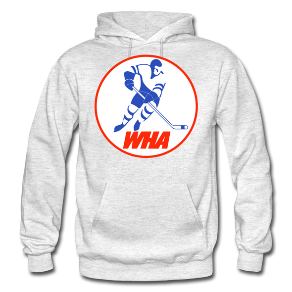 World Hockey Association Hoodie (WHA) - light heather gray