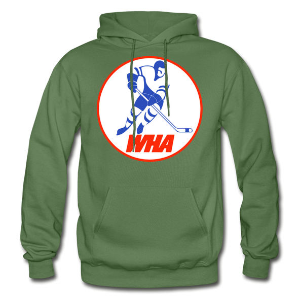 World Hockey Association Hoodie (WHA) - military green