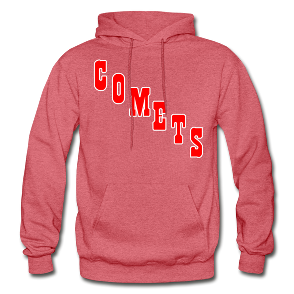 Clinton Comets Logo Hoodie (EHL) - heather red
