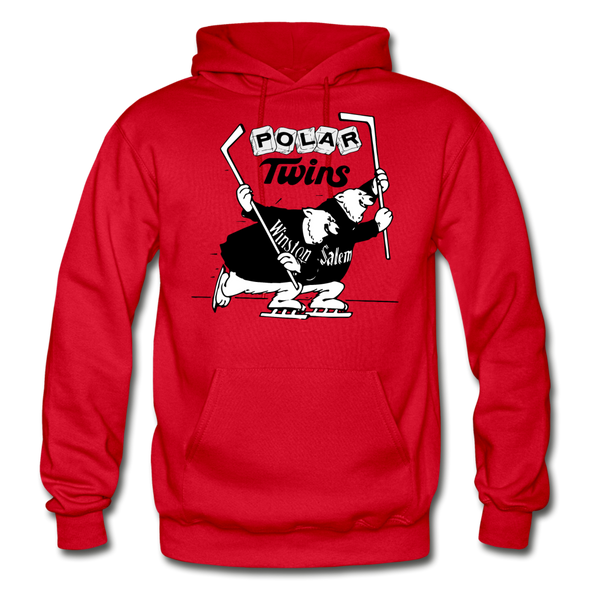 Winston-Salem Polar Twins Hoodie (SHL) - red