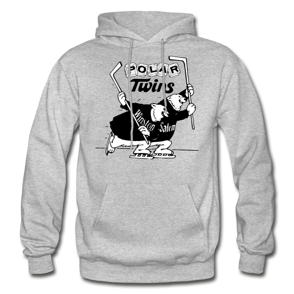 Winston-Salem Polar Twins Hoodie (SHL) - heather gray