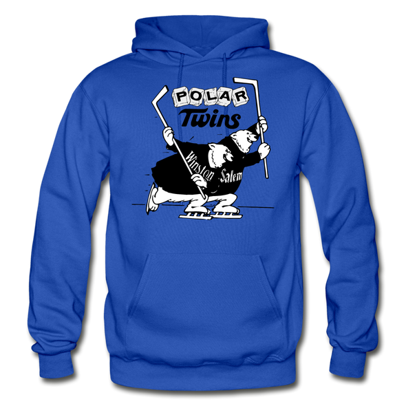Winston-Salem Polar Twins Hoodie (SHL) - royal blue