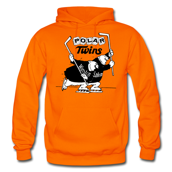 Winston-Salem Polar Twins Hoodie (SHL) - orange