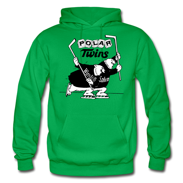 Winston-Salem Polar Twins Hoodie (SHL) - kelly green