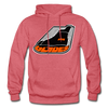 Erie Blades Logo Hoodie (NAHL) - heather red