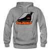 Erie Blades Logo Hoodie (NAHL) - graphite heather