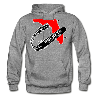 Florida Rockets Logo Hoodie (EHL) - graphite heather