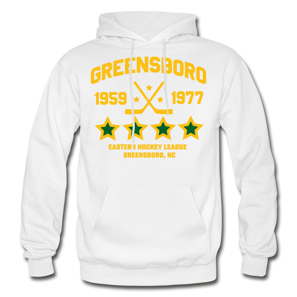 Greensboro Hockey Club Dated Hoodie (EHL & SHL) - white