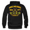 Greensboro Hockey Club Dated Hoodie (EHL & SHL) - black