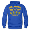 Greensboro Hockey Club Dated Hoodie (EHL & SHL) - royal blue