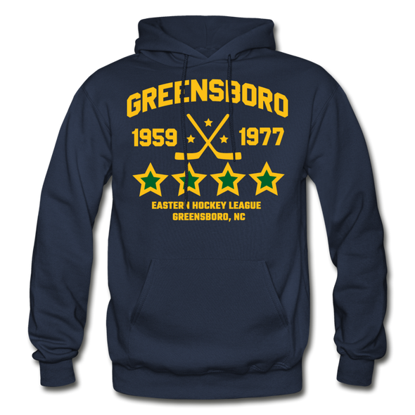 Greensboro Hockey Club Dated Hoodie (EHL & SHL) - navy