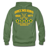 Greensboro Hockey Club Dated Hoodie (EHL & SHL) - military green